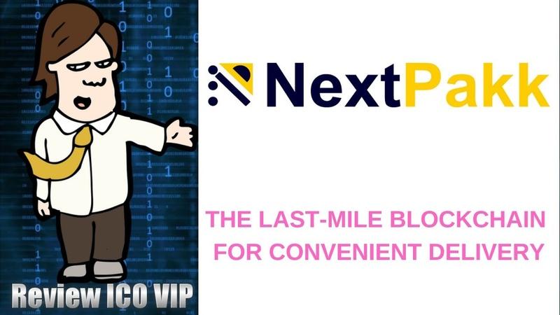 NextPakk Review ICO The Last Mile Blockchain for Convenient Delivery