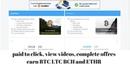 Best website clic ads earn BTC,ETH,LTC,BCH. WHIT PREUVE