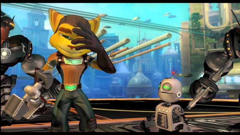 Ratchet Clank Future: Tools of Destruction - Launch Trailer