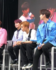 """KCON on Instagram: """"Which #PENTAGON member are you in a lecture? #KCON18NY #STARLIVETALK"""""""