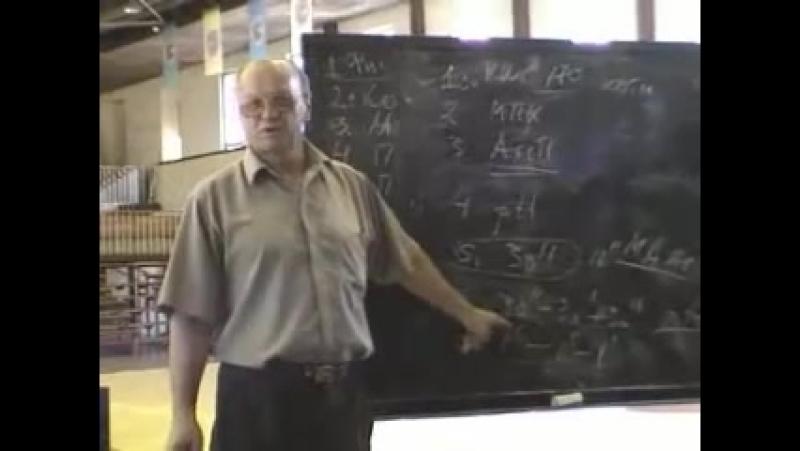 Селуянов Виктор Николаевич лекция 1 из 2 для сборной по самбо