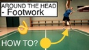 BADMINTON FOOTWORK 11 HOW TO ATTACK FROM THE BACKHAND SIDE AROUND THE HEAD