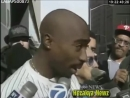 RARE 1994 THROWBACK- Tupac Shakur RAW Interview Outside NYC Courthouse
