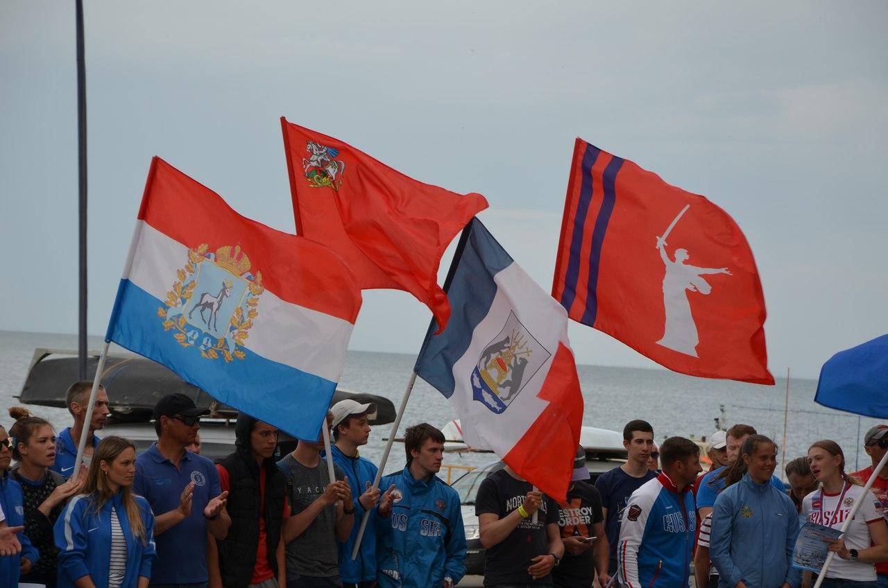 В Таганроге прошли соревнования по парусному спорту