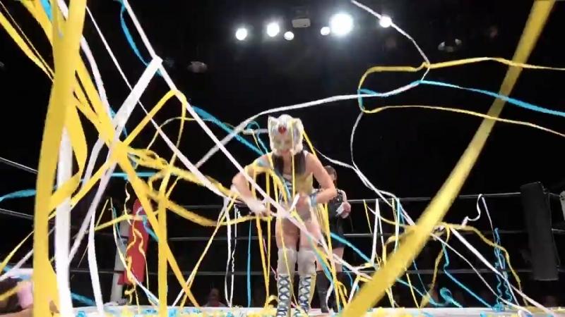 Shiki Shibusawa vs. Starlight Kid - Stardom Goddesses Of Stardom Tag League 2017 - Tag 5