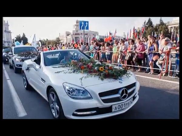 Автопрокат Абсолют Авто в Кемерово на параде цветов заняли первое место