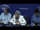 Des islamistes inviteees au Parlement europeeen reeclament la burqa et le burkin