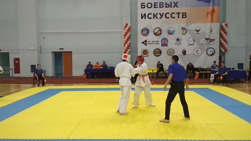 Второй бой Никиты Гарбузова