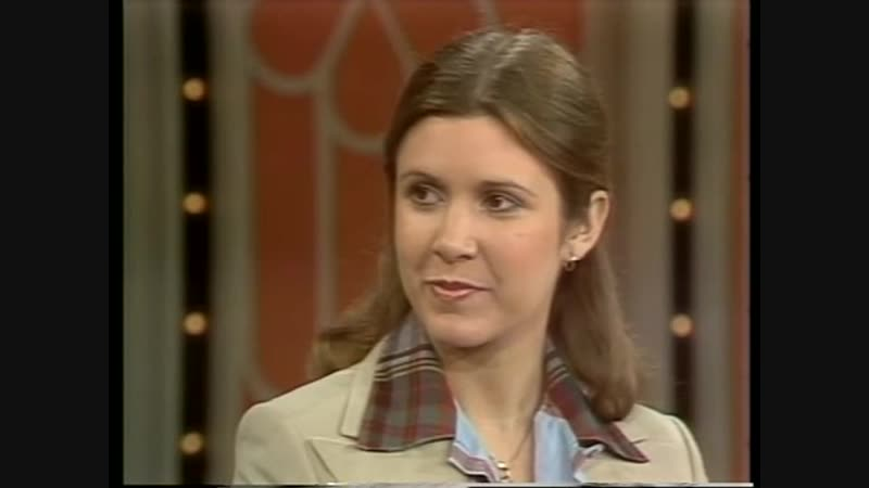 STAR WARS early talk show Carrie Fisher Mark Hamill Harrison Ford