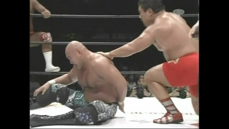 [My1] (2004.10.31) - Keiji Muto Mitsuharu Misawa vs. Hiroshi Hase Kensuke Sasaki