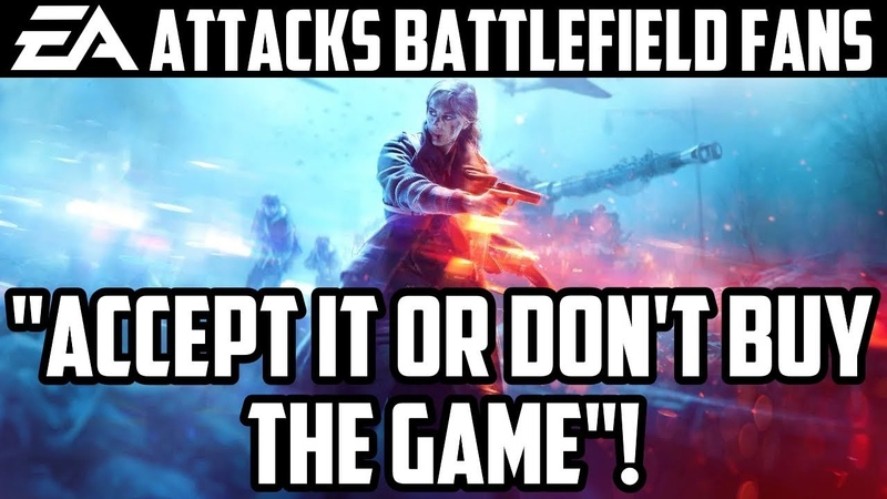 """EA Responds to Women in Battlefield 5 Controversy, Attacks Fans   """"Accept It Or Don't Buy The Game""""!"""