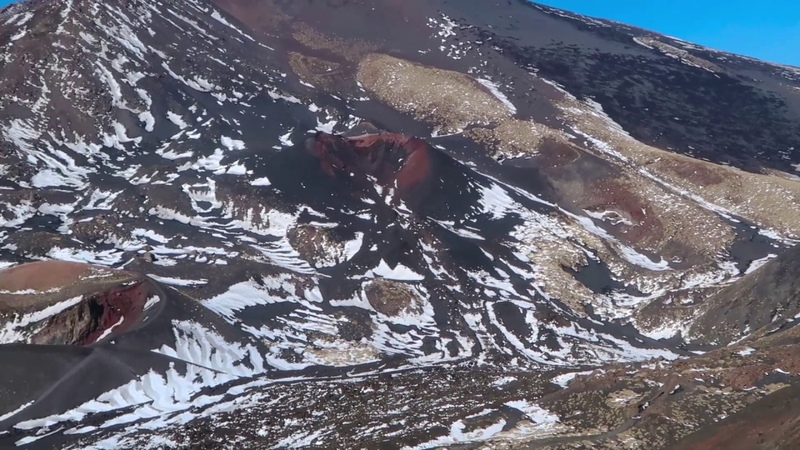 Fabulous Etna volcano