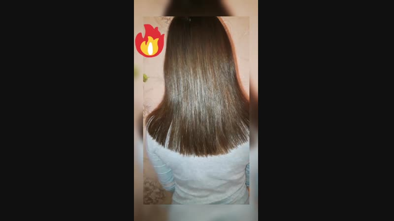 Полировка подравнивание волос