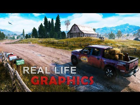 Far Cry 5 Real Life Graphics - SweetFX / ENB - 60 FPS