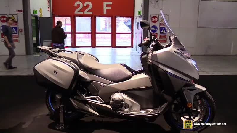 2018 Honda Integra 750 DCT - Walkaround - 2017 EICMA Milan