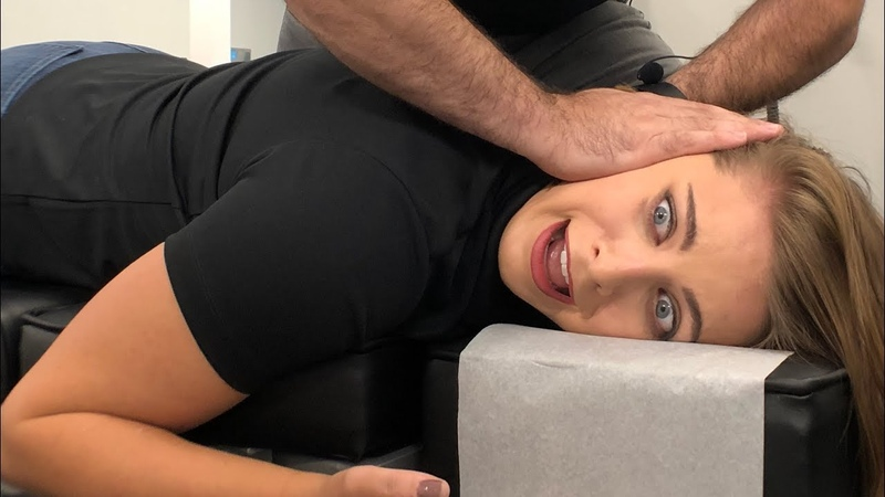*SUPER STIFF NECK* Fixed by NEW Chiropractic Technique