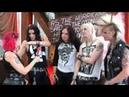 Patty Toledo Crashdiet Interview Wacken 2011