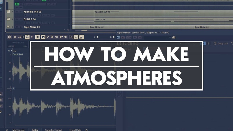 Making Atmospheric Pads Soundbeds Tutorial [Wave Future Garage Ambient]