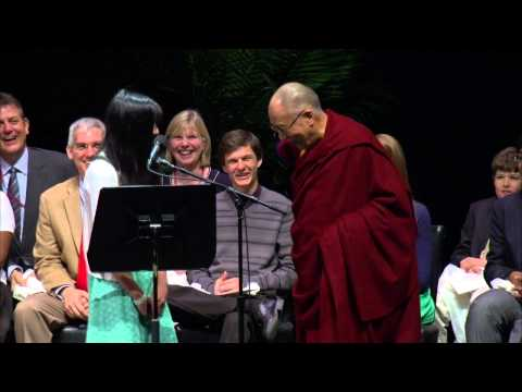 Girl Interrupted by the Dalai Lama