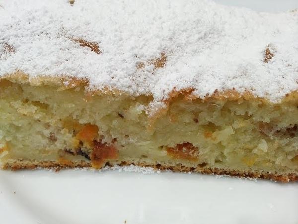 Вкуснейший,тающий во рту Творожный Кекс к чаю с сухофруктами.Cake.Cupcake from cottage cheese.