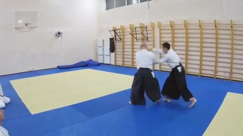 Aikido practice daily | St-Petersburg 2018
