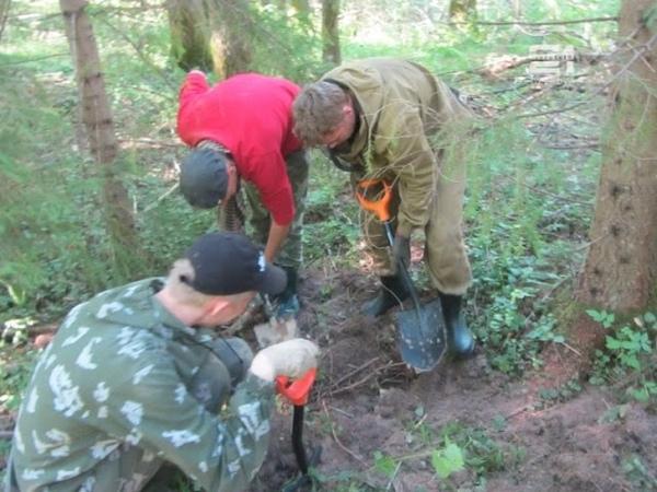 Поездка отряда поисковиков БТЖТ в Смоленскую область