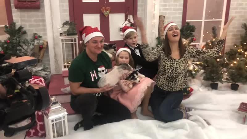Бэкстейдж со съёмок праздника для Паши, Ани и Олены