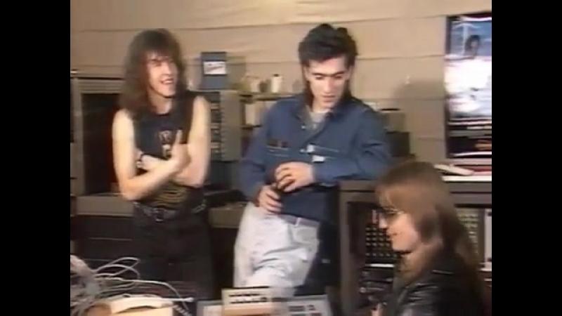 Ария в прогрМузыкальный лифт Фрагмент передачи(март-апрель 89)