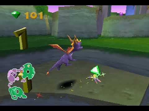 [PS1/USA] Spyro 2: Ripto's Rage! - 01. Мир 1. Глиммер (100%)