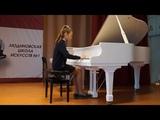 Чумакова Злата - Н. Раков «Первые фиалки»