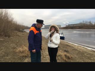 Стрим 72.ru: гоняем по Туре на воздушной подушке
