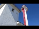 Lighthouse bts - Cape Forchu March 20th first day of spring 2018