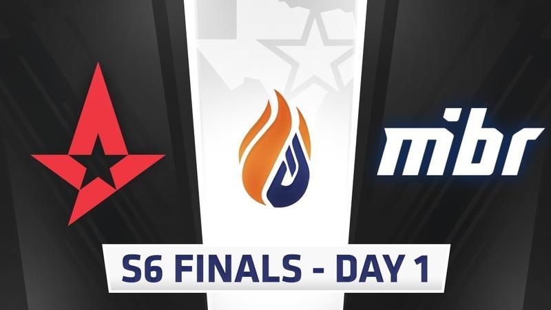 ECS Season 6 Finals Day 1 Astralis vs MIBR - Inferno