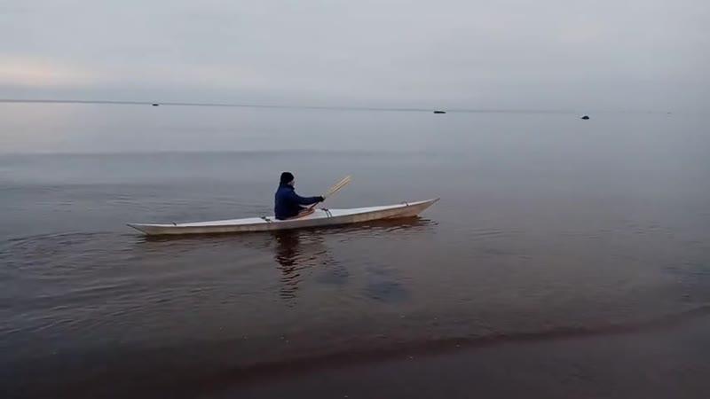 Первый спуск на воду Каяка Rebel Gears