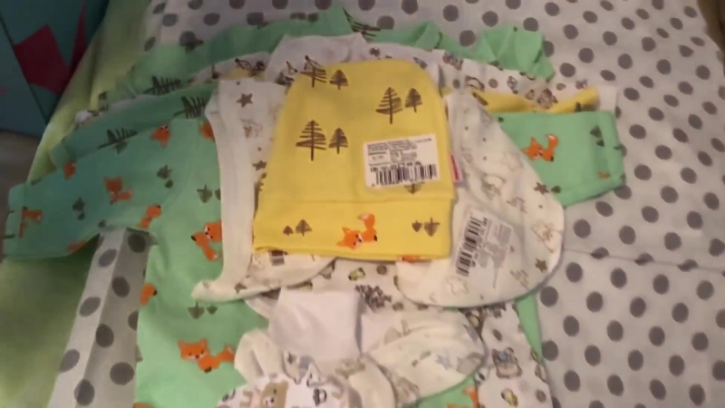 Коробка от Собянина новорождённым