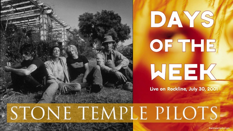 Stone Temple Pilots - Days Of The Week (Live Unplugged on Rockline 2001)