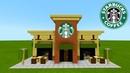 Minecraft Tutorial: How To Make A Starbucks 2019 City Tutorial