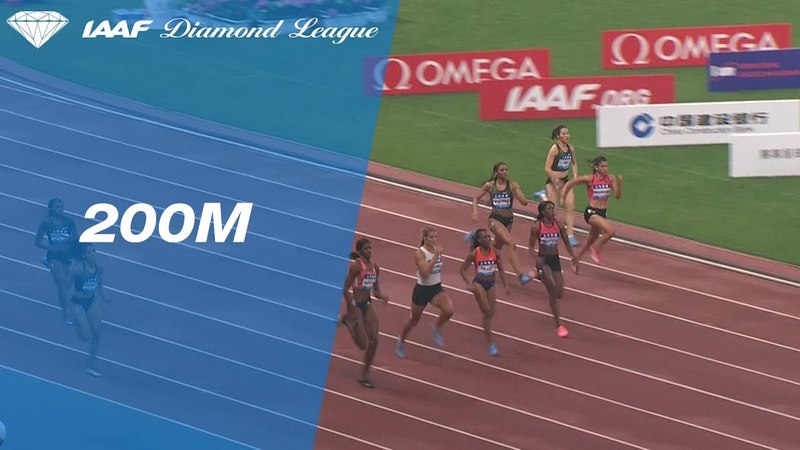 Shaunae Miller-Uibo Wins Women's 200m - IAAF Diamond League Shanghai 2018