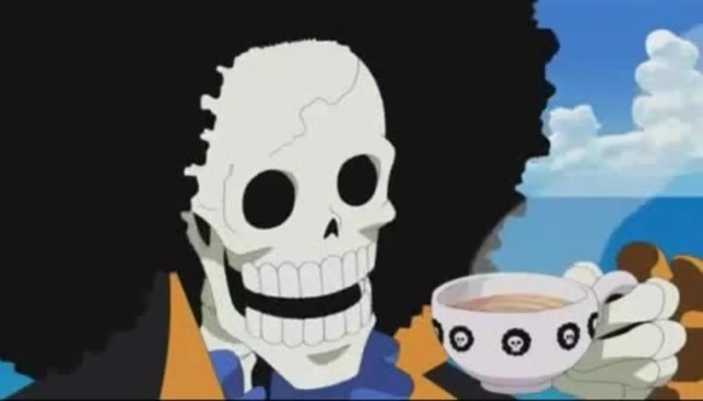 Brook sans One Piece Undertale
