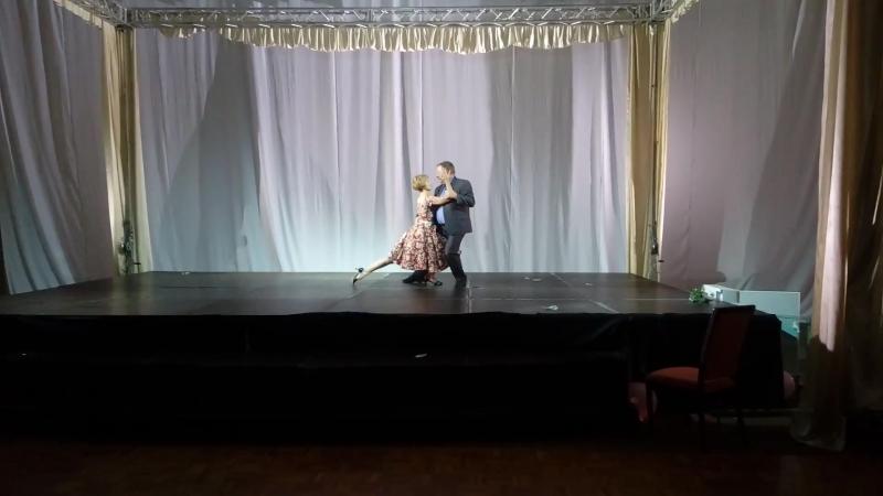 Первый чемпионат по свадебному танцу. Игорь Селин и Лариса Соколова.