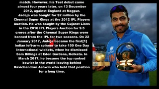 Ravindra Jadeja Indian Cricketer Biography With Detail