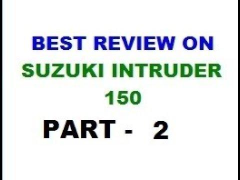 Suzuki Intruder 150 ABS Full Perfect Review | Part 2 | 2018 Best Urban Cruiser Bike in India