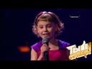 Девочка которая делает мир ярче Оля очаровала всех своим детским обаянием и задорным номером