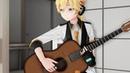 MMD PV Kiss the Rain on Guitar