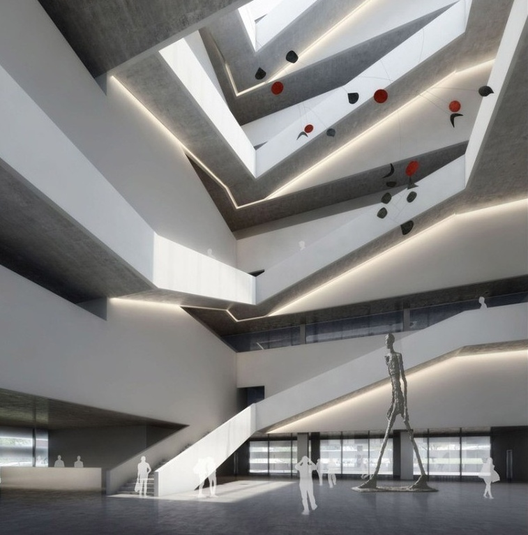 Культурный центр Changzhou culture center.