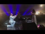 Пианист Петр Андреев сделал предложение руки и сердца на концерте Нюши