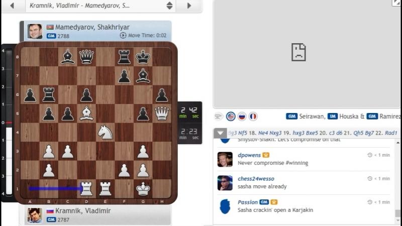Vlad blunders vs Mamed