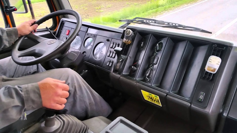 TESTING MERCEDES BENZ SK2638 ON THE ROAD - FIŠ TRUCKS