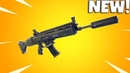 *NEW* SUPPRESSED AR WEAPON Sound Test! Fortnite Battle Royale