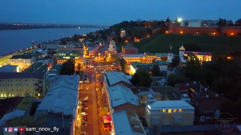 Осенний джаз, Рождественская улица, Нижний Новгород / Autumn jazz, Nizhny Novgorod